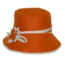 Felt Sauna hat for ladies