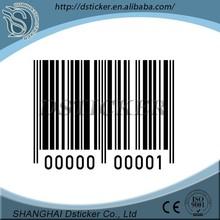 China matte laminated anti-fake bar code label hot sale