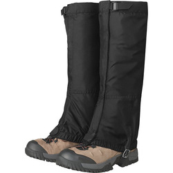 "Fashion Men's Rocky Mountain High Nylon Gaiters with 1"" wide Hook"