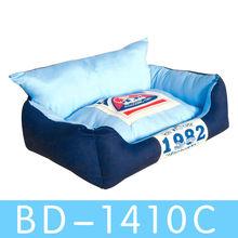 wholesale funny elegant polyester fleece luxury sofa pet dog beds