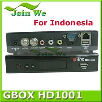 New design Ali M3606 HD DVB-C Open free channel set top box GBOX 1001 for Indonesia with Superior quality
