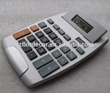 promotional calculator Big screen display solar 8 digits desktop calculator