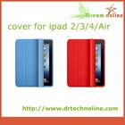 2014 hot sale Smart Case For ipad 4 Case WITH SLEEP / WAKE