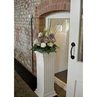Wedding occasion decorative wedding pillars for sale