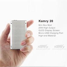 Hot selling e vaporizer e cigarette kamry20,Oled screen 20 watt mod kamry 20 new business opportunity