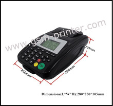 Linux Wireless Network Printer POS Thermal Support WIFI, LAN, GPRS or 3Gfor optional