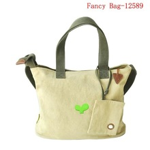 New fashion classical canvas tote bag for students customized