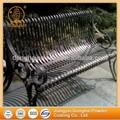 solido decorative sedia parco metallo di polvere di vernice