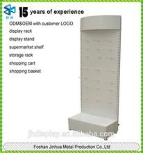 Metal single-sided handbag shelf/socks display stands for shoe shop equipment