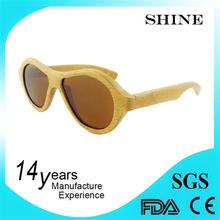 Custom Promotional glasses high end polarized wood sunglasses