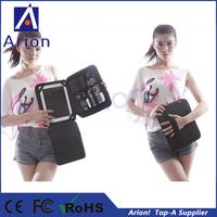 10pcs/lot 2014 hot selling Black Digital Storage travel bag organizer case for ipad digital device