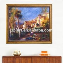 foto su tela villa de La Poste a cagnes riproduzione pittura a olio