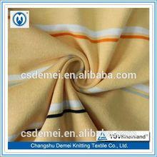 CVC Fabric/Stripe Fabric jersey barcelona for T-Shirts/Polo Shirts sold in bulk