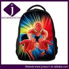 New fashion kids school bags spiderman backpacks kids cartoon school backpack china wholesale jeb064