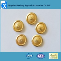 customized zinc alloy gold lion brand snap button