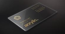 high end business invitation card