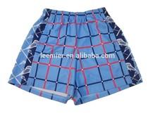 High quality custom color design sports short for boys