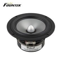 Fountek FW146 5.25 inch phase plug aluminium cone sound system speakers subwoofer