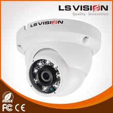 LS VISION 1080p ir dome vandal proof full hd network camera 1080p ip66 ip poe dome webcamera 1.0mp hd camera