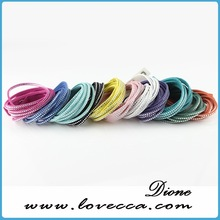 magnetic fashion bracelets fashion style exquisite with crystal leather bangle for girls pink color