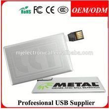 Free sample , Business card usb flash drive credit card usb flash drive free logo
