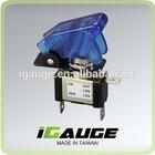 Blue LED 12v 20A Racing Car Toggle Switch