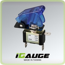 Blue LED 12v 20A Racing Car Toggle Switch