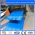 colored corrugated steel tile