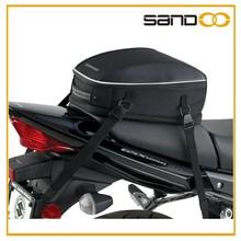 Outdoor Travel Bike Black Sport Tail/Seat Bag, Wholesale Waterproof Motorcycle Bag