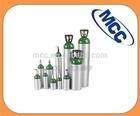 2015 New Type Medical oxygen aluminum gas cylinder