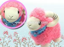 2015 mascot plush sheep toys cute sheep stuffed plush toys