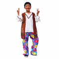 Nueva llegada 3 unids partido hippie trajes para los niños PLCC-1518