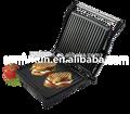 Alta calidad de uso doméstico panini grill con de eliminación de bandeja de goteo