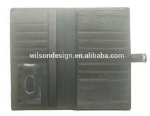 2014 Black Fashion Design Wholesale Custom Popular passport case