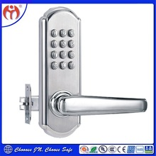 Cheap Alibaba China Supplier Security Digital Mechanical Combination Sliding Door Handle Code Lock for Home