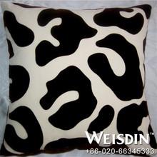 eco-friendly hot sale cotton/polyester smile plain cushion pillow