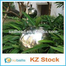 Red color good antirust garden decor gazing ball