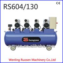 silent , oilless industrial air compressor 4HP 0.8Mpa industrial air compressor