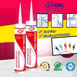 COJSIL-039 Acetic dow corning quality rtv silicone sealant transparent