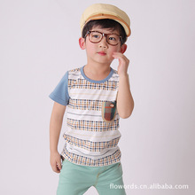 Smartin Brand Children Boy Kid Wear T-shirt from china manufacurer