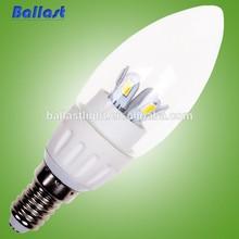 light candle lamp led light candle lamp 3w 4w e14 e27 e14
