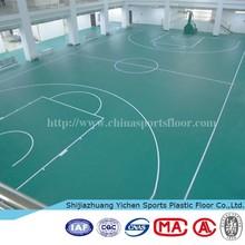 fiberglass vinyl flooring used basketball court