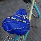 Promotional Custom Logo Plastic PE Bike Seat Cover