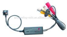 420TVL Sony CCD world smallest hidden video camera,3.7mm pinhole lens,mini clip camera with audio.