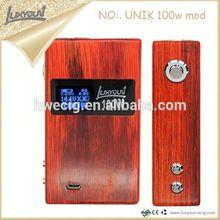 Unik wood box mod Alibaba best selling products wooden e fire vaporizer pen