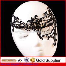 hot selling vendetta mask charming carnival fabric mask decorative lace masks