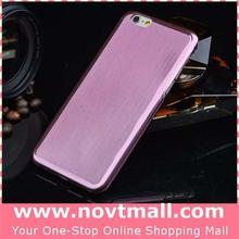 titanium ultra slim metal case for iphone6, gold metal mobile phone case for iphone 6 plus