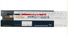 slide chart / slide ruler / PVC plastic medical ruler