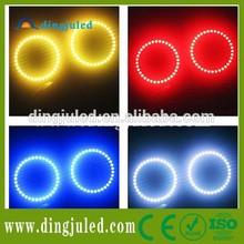 4 x White Angel Eye Halo Ring Car Light Lamp for car