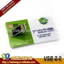 Free Sample Webkey 512MB Credit Card USB Flash Drive